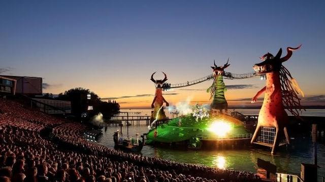 «Die Zauberflöte» steht vor ihrer zweiten Saison an den Bregenzer Festspielen.