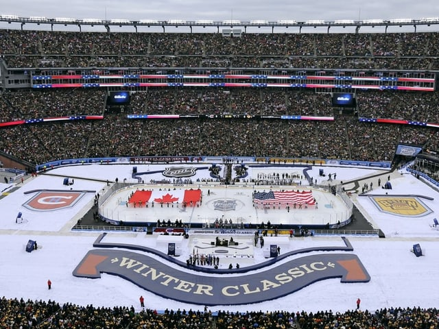 Die Winter Classic der NHL.