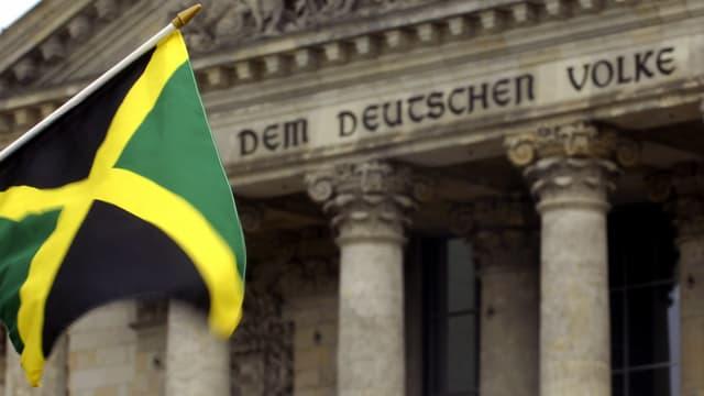 Bandiera da Giamaica, Reichstag.