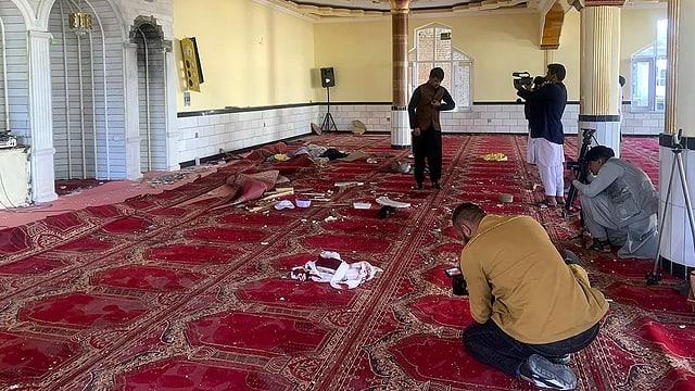 Zwölf Tote nach Explosion in Moschee in Kabul