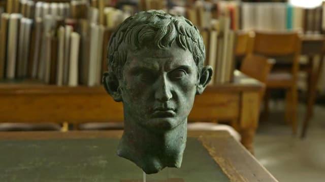 Eine angebliche Fälschung des «Spanischen Meisters»: ein Bronzekopf des Augustus.