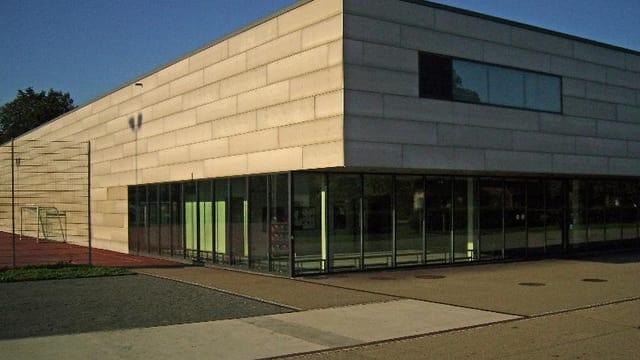 Der Eingang der Rankhofturnhalle.