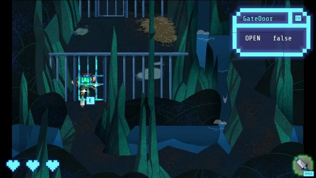 Meow startet ins Spiel - Boo hat sie aber noch nicht gefunden.