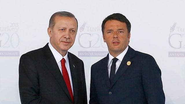 Erdogan und Renzi