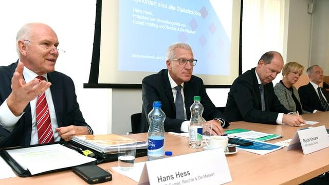 Hans Hess (sanester), Pierin Vincenz (dretg).