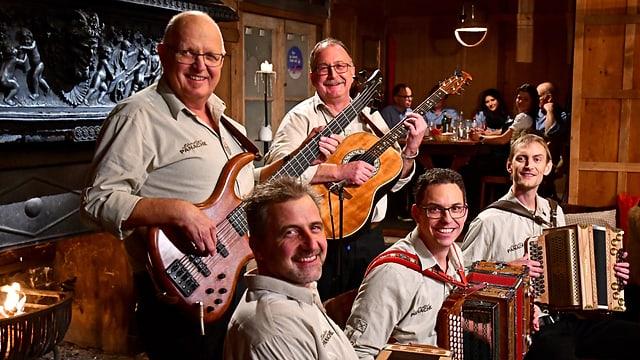 Video ««Potzmusig» aus der Rigi-Hütte in Luzern» abspielen