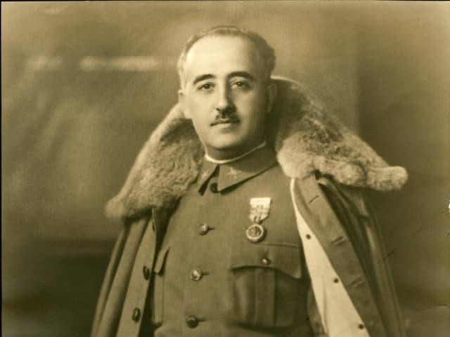 Der inzwischen verstorbene spanische Diktator Franco.
