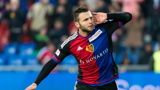FCB-Offensivspieler Renato Steffen.