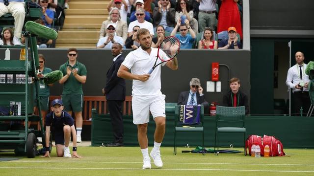 Der Tennisspieler Daniel Evans.
