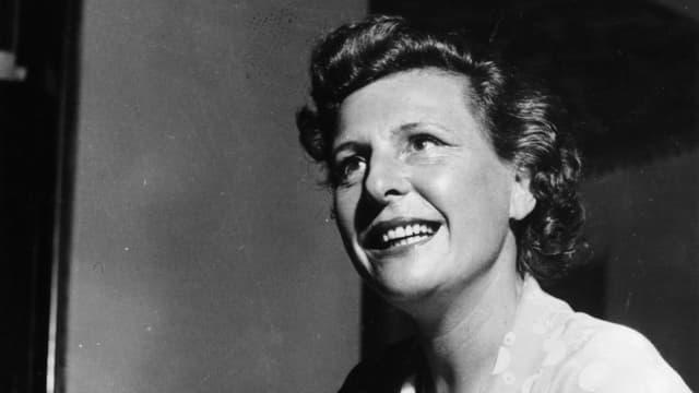 Ein Porträt der deutschen Schauspielerin Leni Riefenstahl.