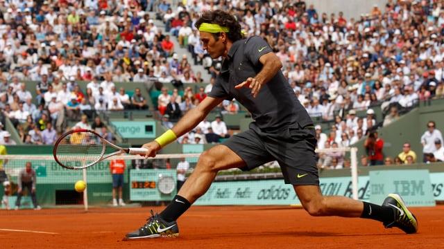 Seit 1999 hat Roger Federer bei Roland Garros kein Turnier verpasst.