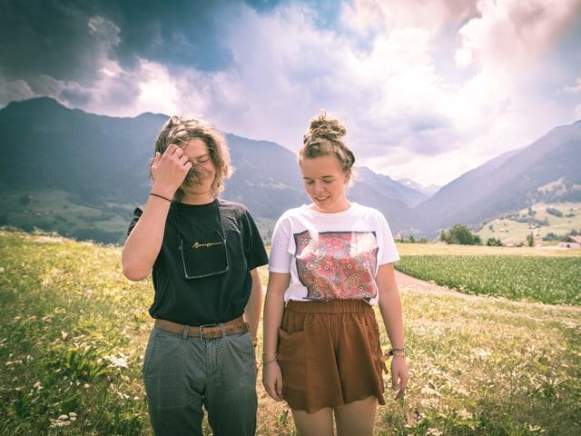 Riana Steinmann und Severin Rusch
