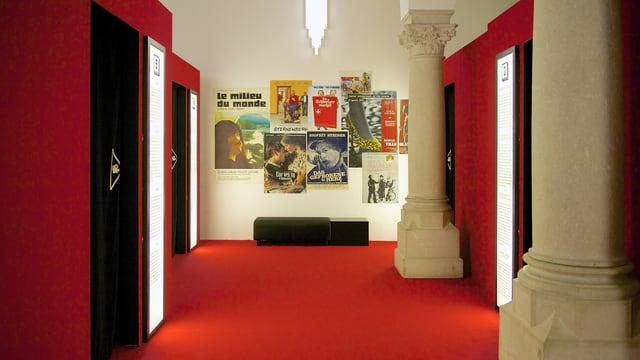 Blick in die Kino-Lounge des Landesmuseums
