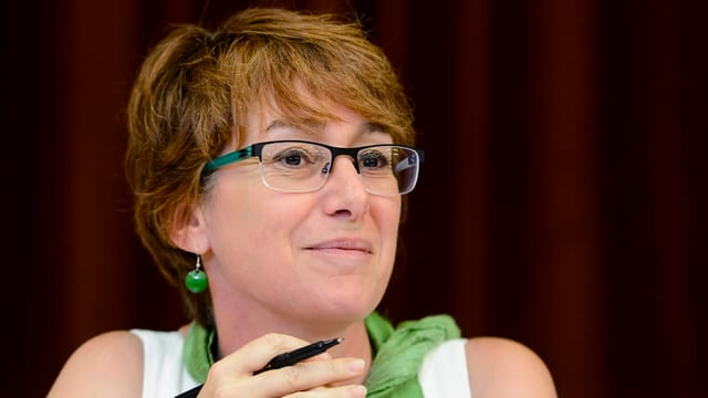 La presidenta da la PPS dal chantun Vad, Fabienne Despot, è cuntenta.