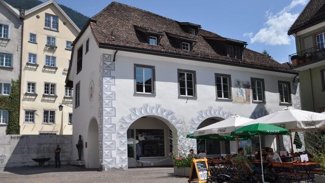 Il bajetg «Haus zum Arcas» a Cuira