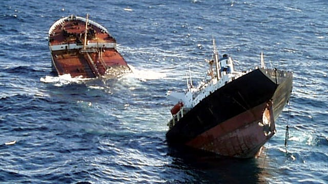 Die Öltanker «Prestige».