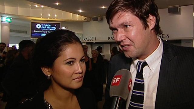 Michael Steiner und Ehefrau Minerva Mondejar Steiner
