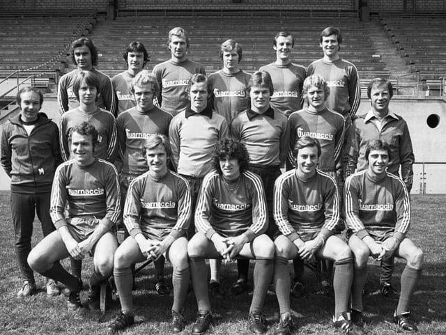Ein Mannschaftsfoto des FC Basel