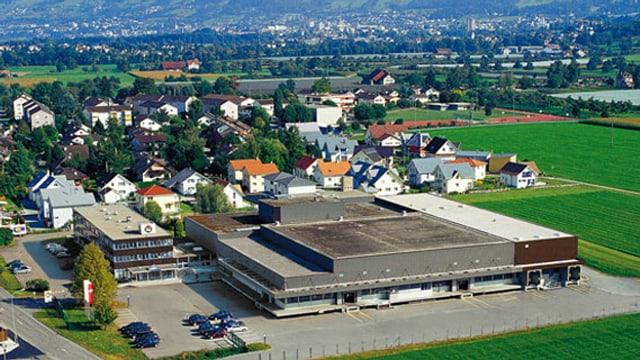 Die Hügli-Gebäude in Steinach