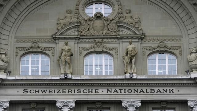 La Banca naziunala Svizra