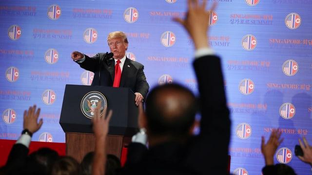 Donald Trump: Ein gefragter Mann.