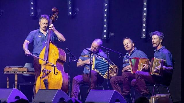 Il quartet d'orgelets Längenberg