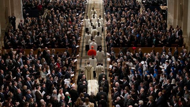 Beerdigung Scalias