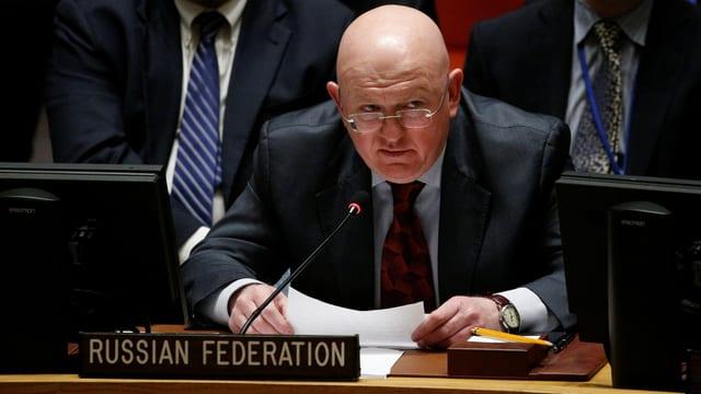 Russischer Botschafter.
