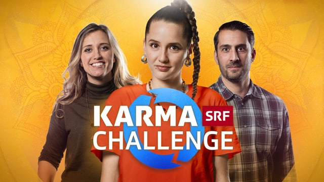 Keyvisual Themencluster «Karma Challenge – Mach die Welt besser!»