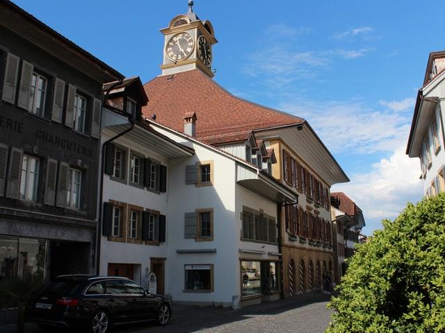 Das Rathaus Murten