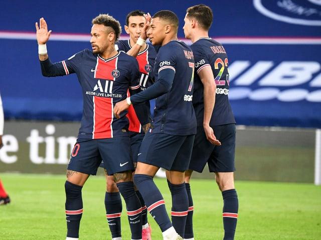 Die Stars von Paris Saint-Germain.