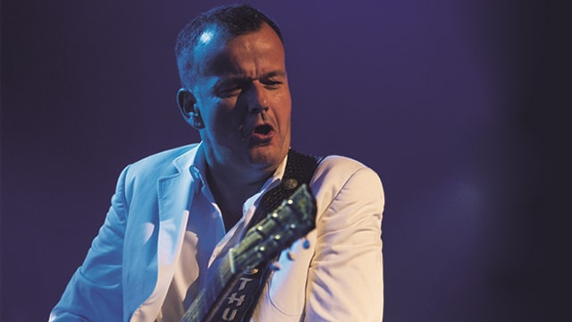 Philipp Fankhauser an der Gitarre.