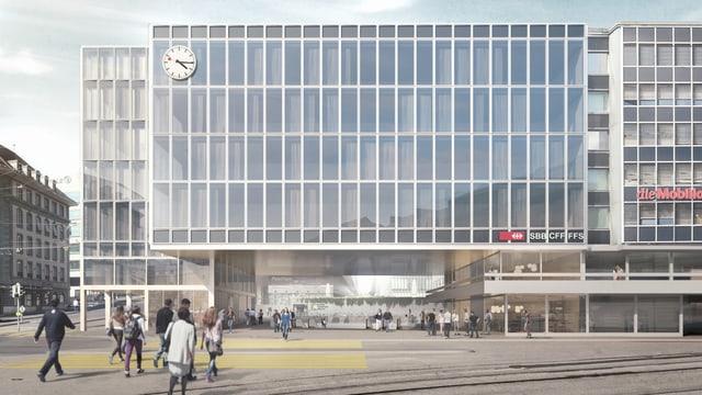 Das neue Bubenbergzentrum, Visualisierung