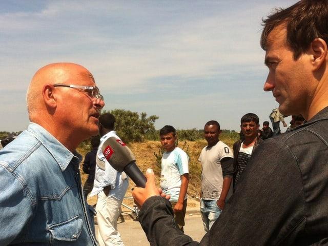 Gerber interviewt Mégard