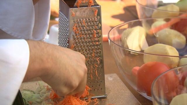 Gemüseraffeln: Von bissig bis zahnlos