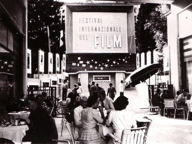 1946: Die erste Ausgabe des Filmfestival Locarno.