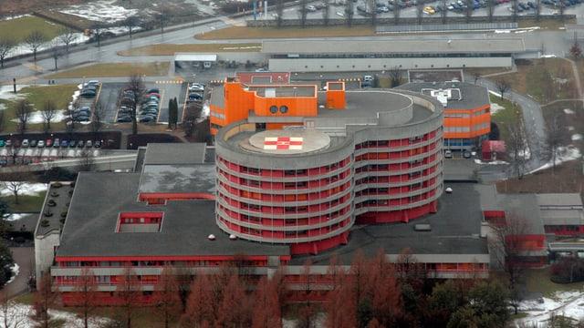 Walliser Kantonsspital in Sitte