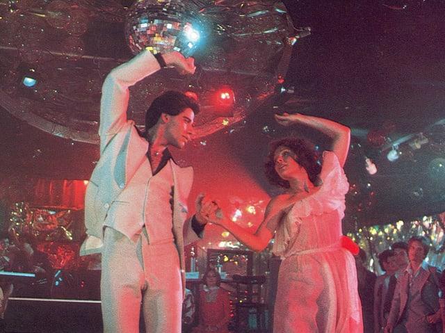 Filmausschnitt mit John Travolta aus «Saturday Night Fever» aus dem Jahr 1977