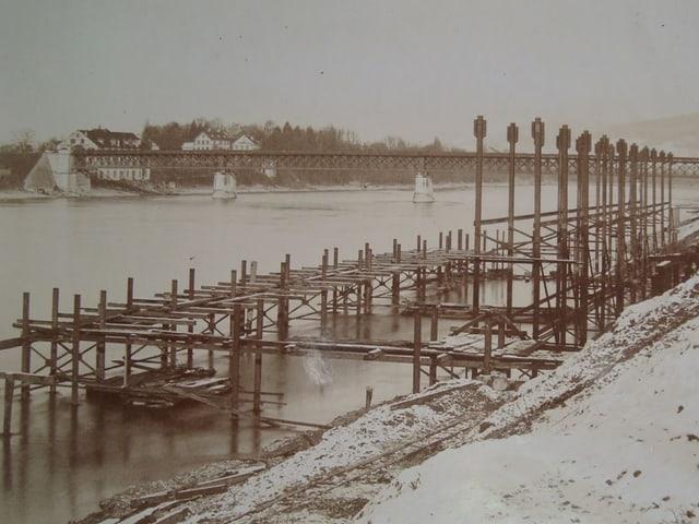 Baustelle Rheinbad