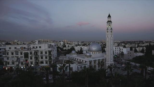 Blick über Tunis.