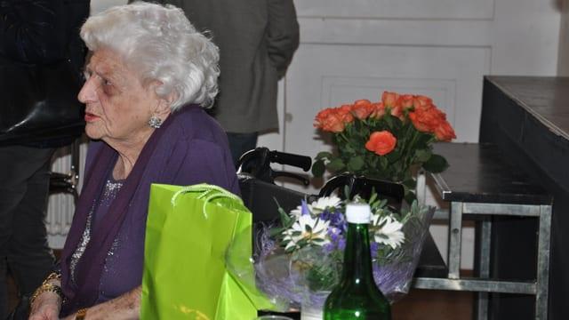 Elly Koch, la regina dal pitg da crusch.