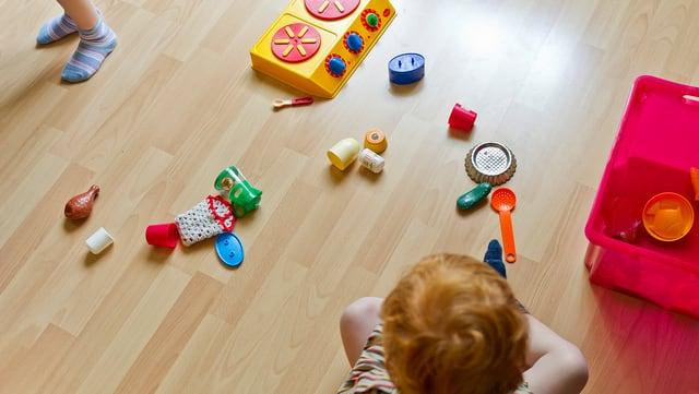 Viele junge Familien sind in der Kinderbetreuung auf Au-Pairs angewiesen.