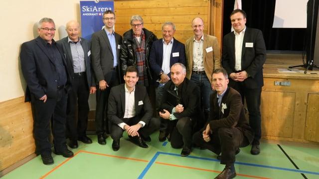Il Cussegl d'administraziun da la Andermatt-Sedrun Sport SA