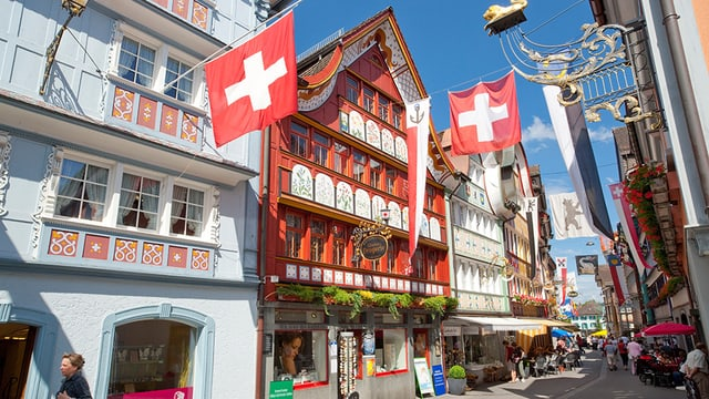 Hauptgasse in Appenzell