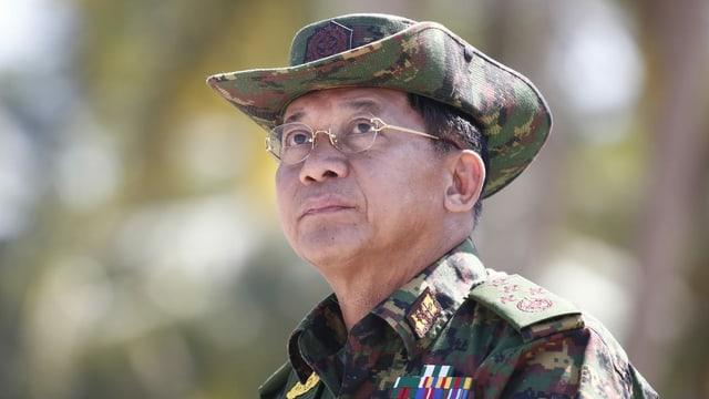 Militärmachthaber und General Min Aung Hlaing und