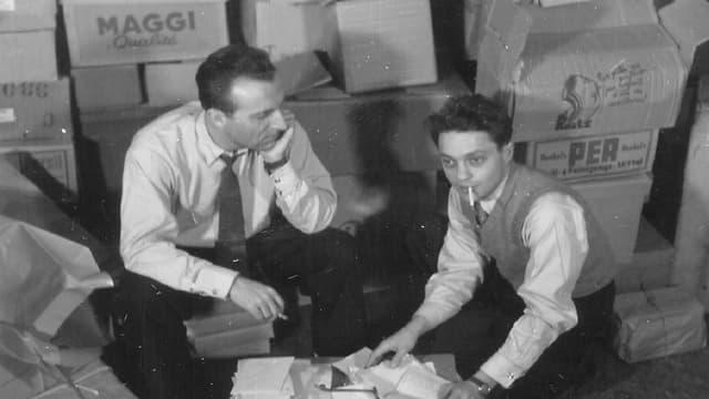 Ils dus iniziants: Jack Rollan e Roger Nordmann