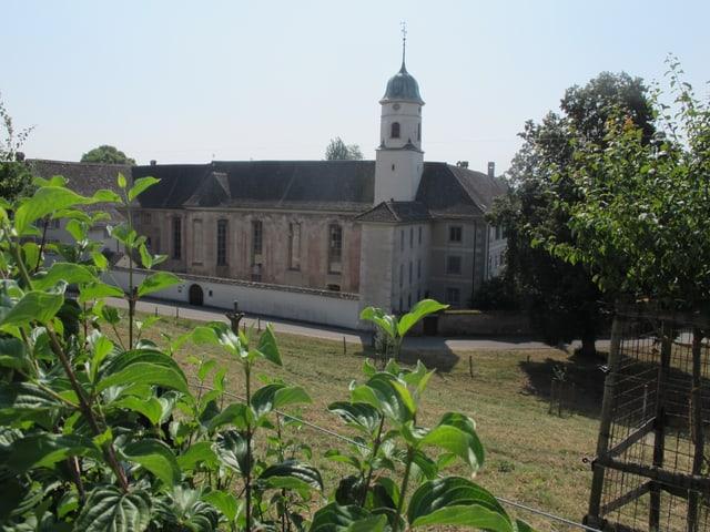 Hauptgebäude des Klosters Fahr