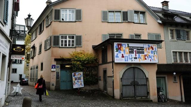 Museum Strauhof in Zürich von aussen