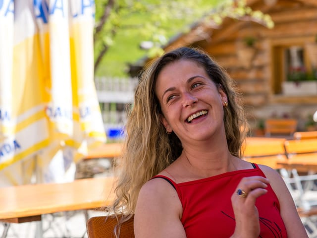 Frohnatur aus Portugal. Cristina Fontana, 35.