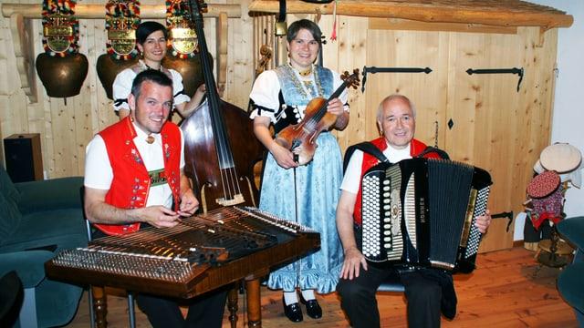 Volksmusikkapelle aus dem Appenzell.